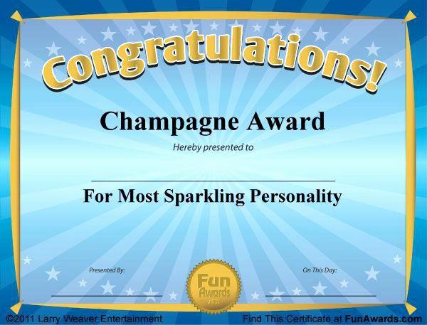 Awards Certificate Template Google Docs Fresh Free Printable Certificates Funny Awards Templates for