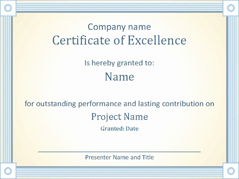 Awards Certificate Template Google Docs Fresh Award