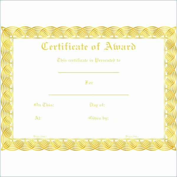 Awards Certificate Template Google Docs Lovely Certificate Templates Stunning Google Docs Award Template