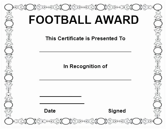 Awards Certificate Template Google Docs Lovely Word Free Printable soccer Certificate Templates Template