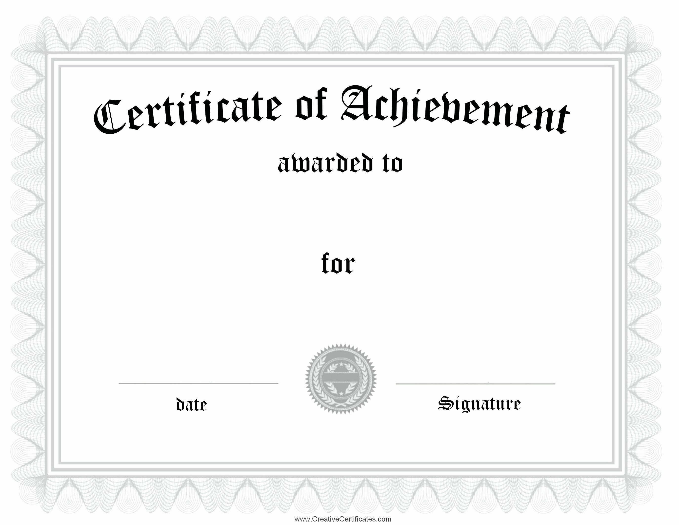 Awards Certificate Template Google Docs Luxury 18 Certificate Templates Google Docs