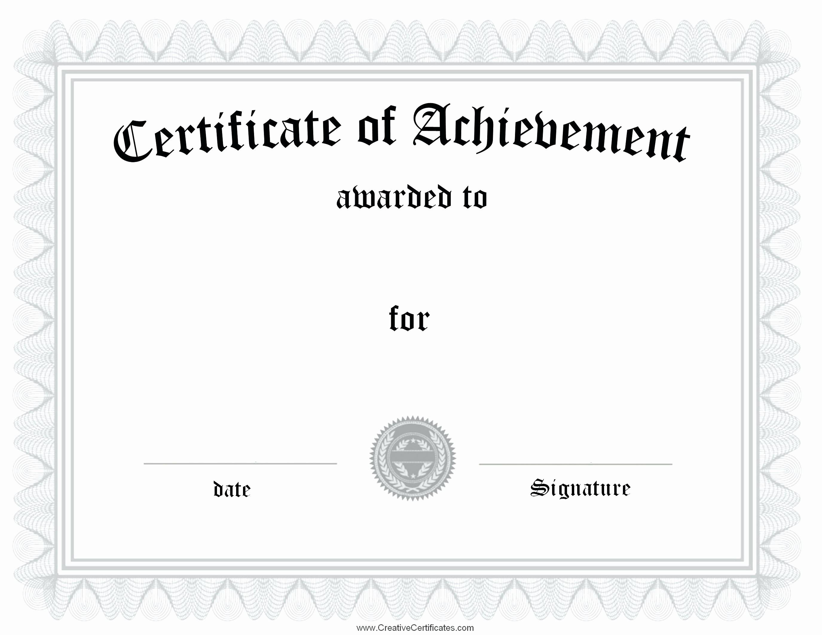Awards Certificate Template Google Docs Luxury 18 Certificate Templates Google Docs