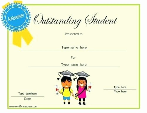 Awards Certificate Template Google Docs New 9 Scholarship Certificate Templates Free Word format