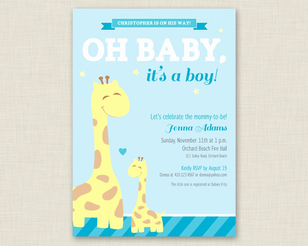 Baby Boy Announcements Free Templates Elegant Baby Shower Invitations for Boys Free Templates
