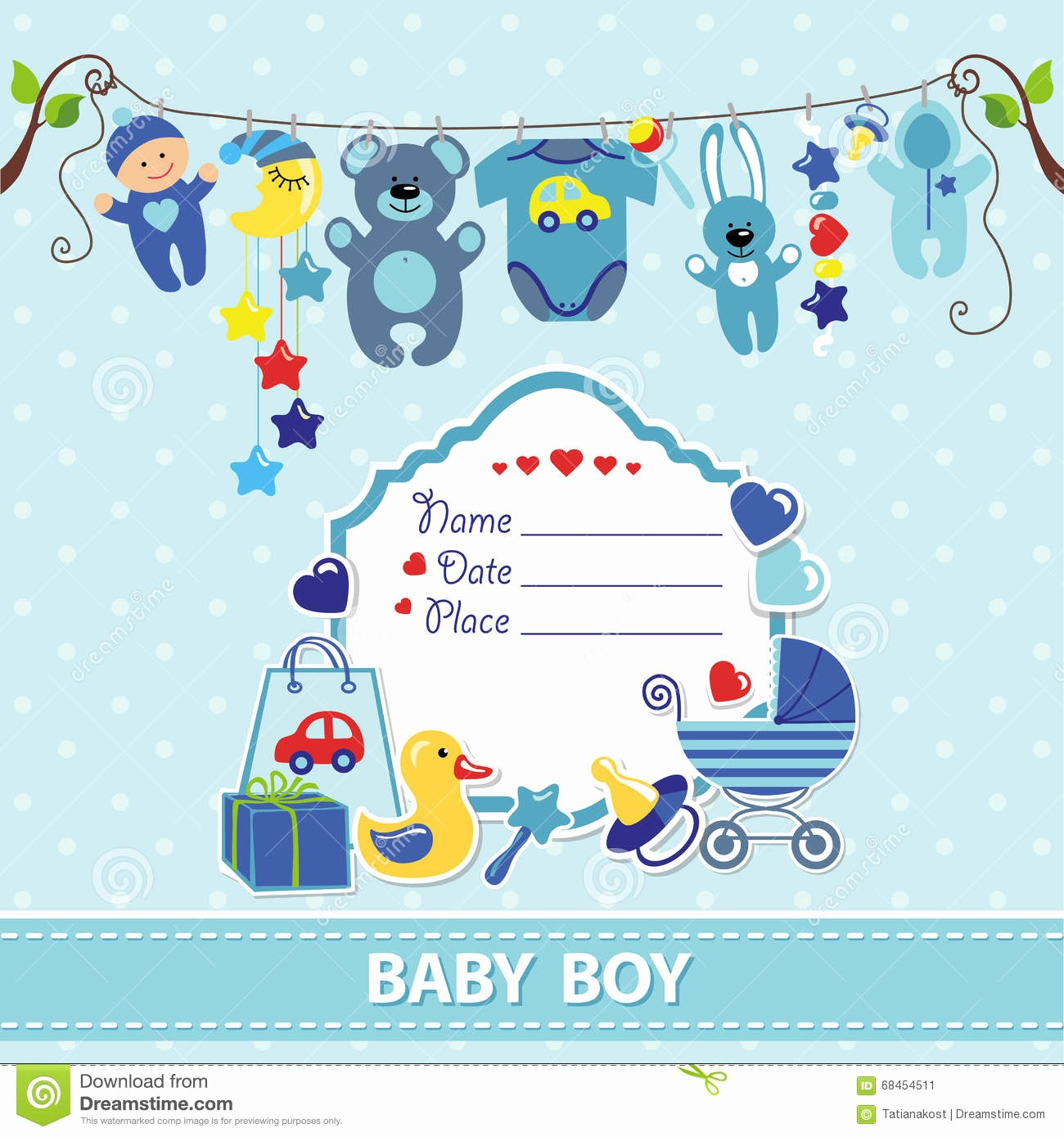 Baby Boy Announcements Free Templates New Free Baby Shower Labels to Download for Boy New Born Card