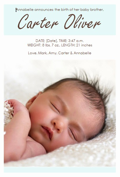 Baby Boy Birth Announcement Template Beautiful Baby Boy Birth Announcement Template Template Haven