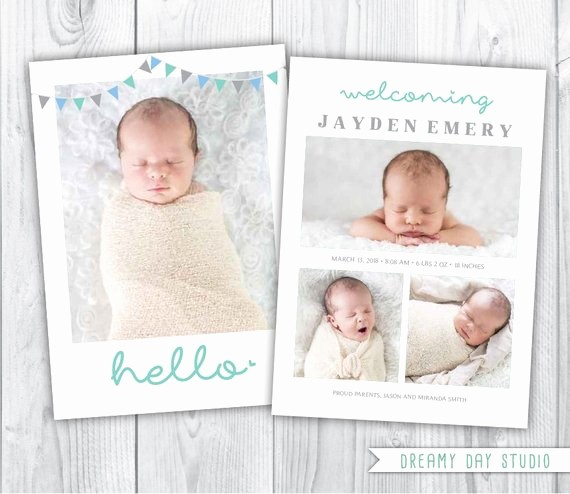 Baby Boy Birth Announcement Template Beautiful Hello Birth Announcement Birth Announcement by