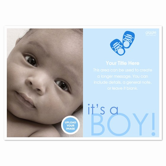 Baby Boy Birth Announcement Template Beautiful It S A Boy Baby Announcement Invitations & Cards On
