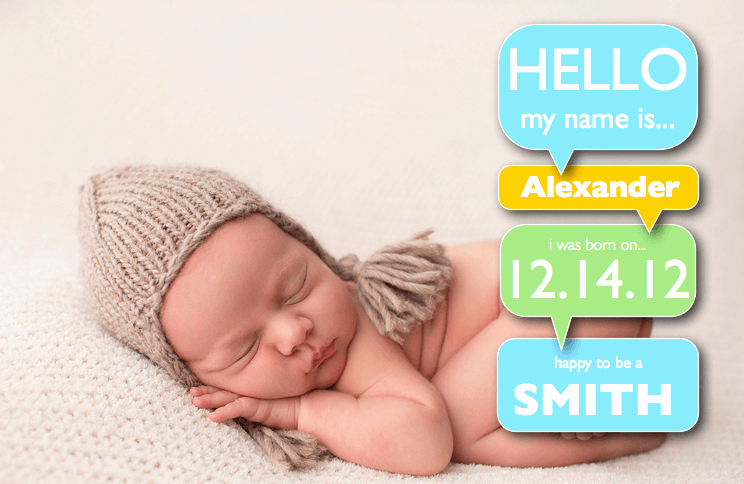 Baby Boy Birth Announcement Template Best Of Boy Birth Announcement Template with Word Bubbles