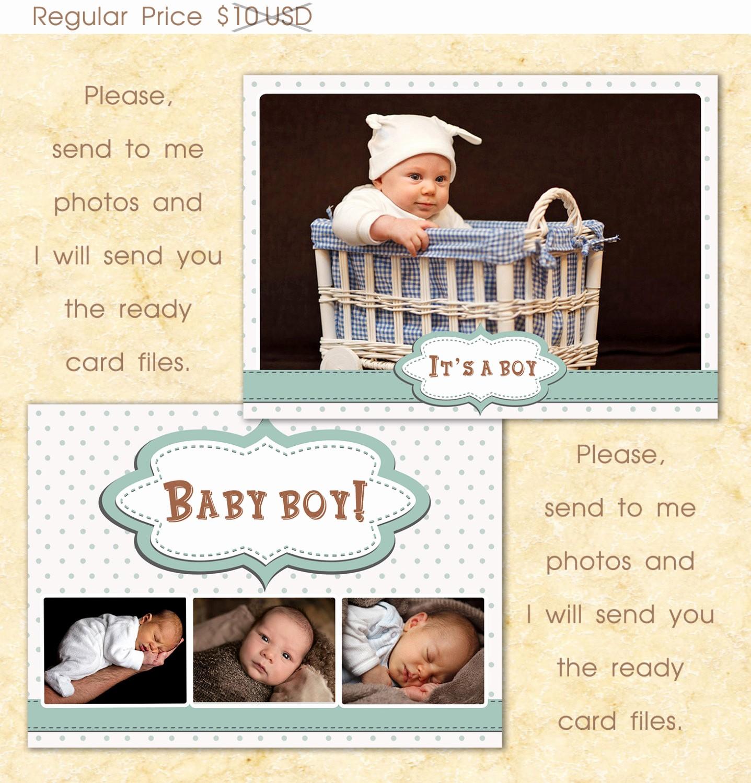 Baby Boy Birth Announcement Template Elegant Baby Boy Templates Birth Announcement Template Grapher