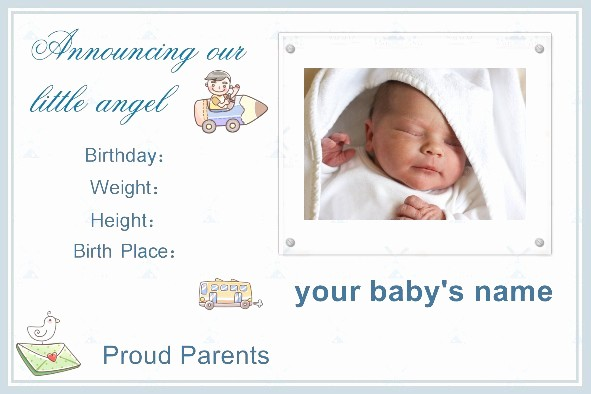 Baby Boy Birth Announcement Template Inspirational Very Good Photo tool & Nice Photo Templates Babycenter