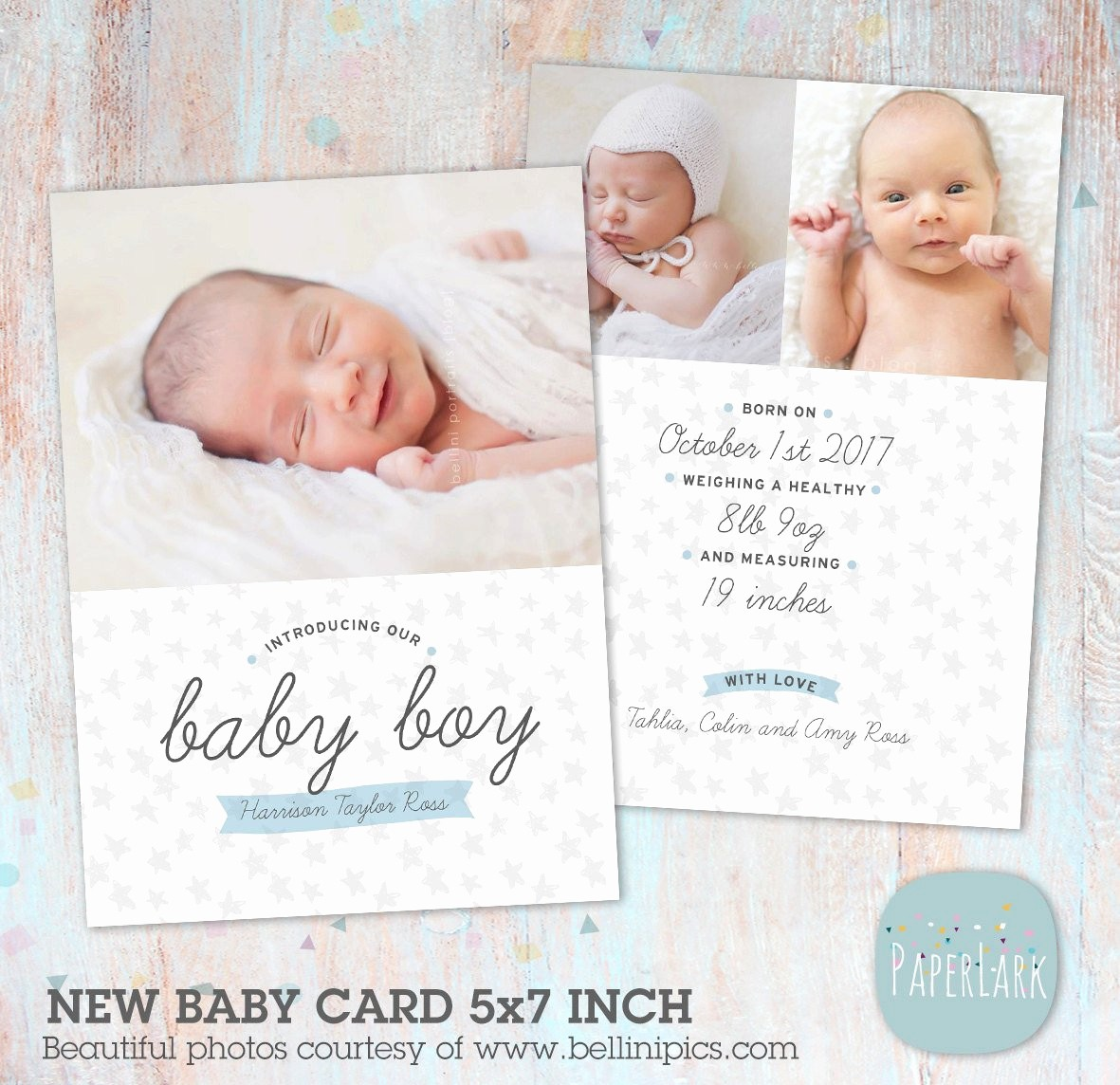 Baby Boy Birth Announcement Template Lovely Newborn Baby Boy Birth Announcement New Baby Shop