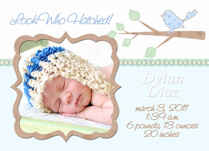 Baby Boy Birth Announcement Template Unique Mick Luvin Photography