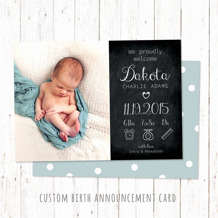 Baby Girl Birth Announcements Template Awesome 15 Best Birth Announcement Templates Images On Pinterest