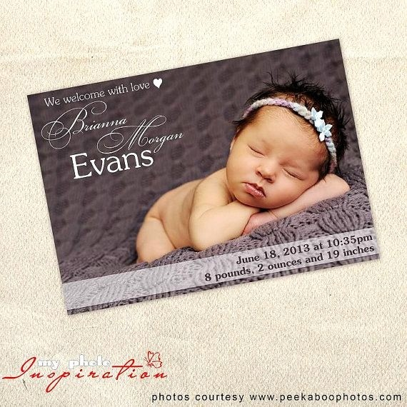 Baby Girl Birth Announcements Template New Baby Birth Announcement Template Girl Birth Announcement