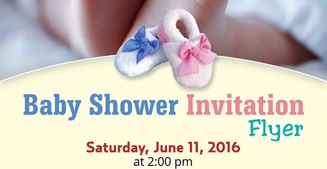 Baby Shower Flyer Template Word Awesome Baby Shower Flyer Template Shop Version