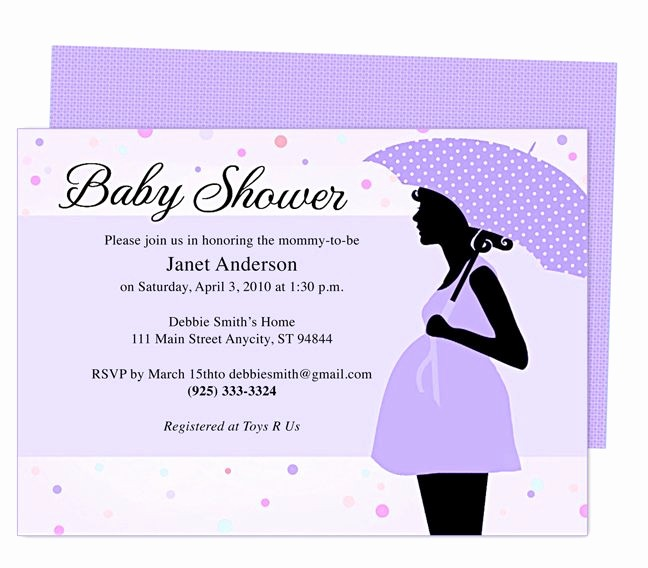 Baby Shower Flyer Template Word Best Of Cute Maternity Baby Shower Invitation Template Edit