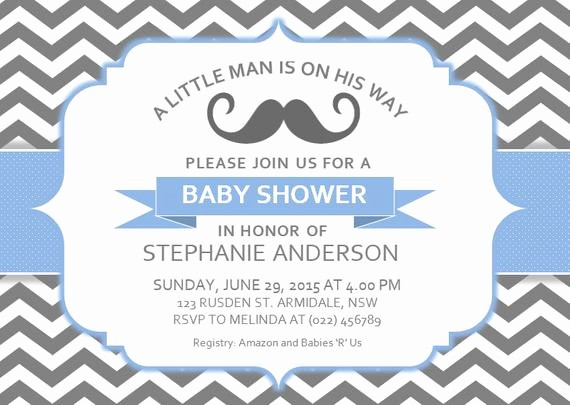 Baby Shower Flyer Template Word Best Of Diy Printable Ms Word Baby Shower Invitation Template by