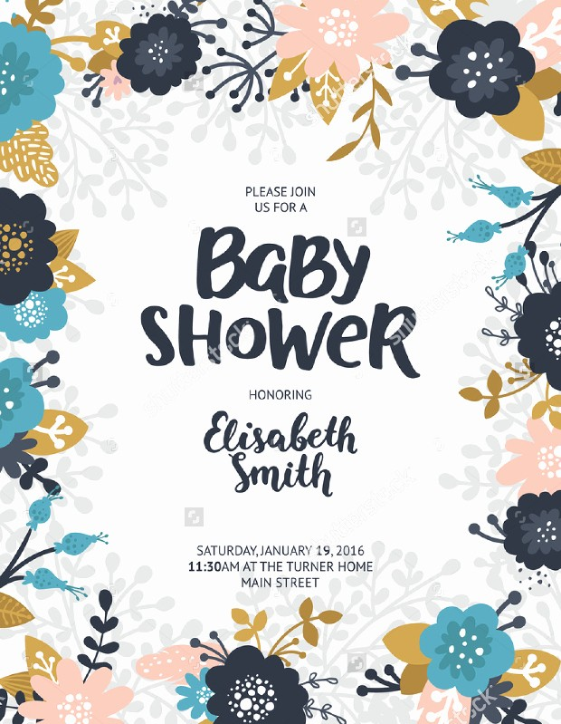 Baby Shower Flyer Template Word Inspirational Baby Shower Flyer Template Yourweek C6c917eca25e