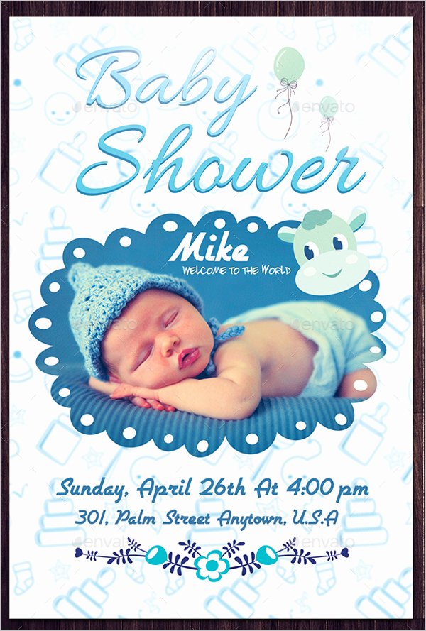 Baby Shower Flyer Template Word Lovely 26 Baby Shower Flyer Templates Free Psd Word Sample Ideas