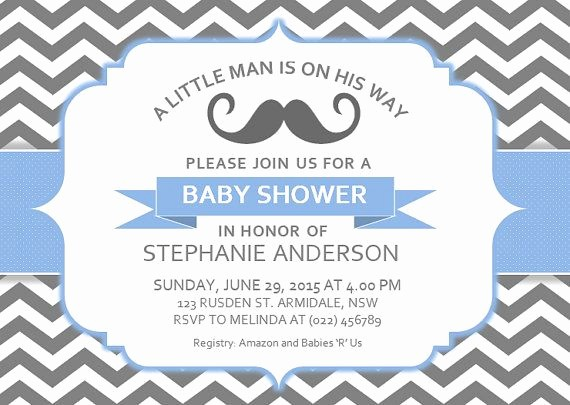 Baby Shower Flyer Template Word Lovely Diy Printable Ms Word Baby Shower Invitation Template by