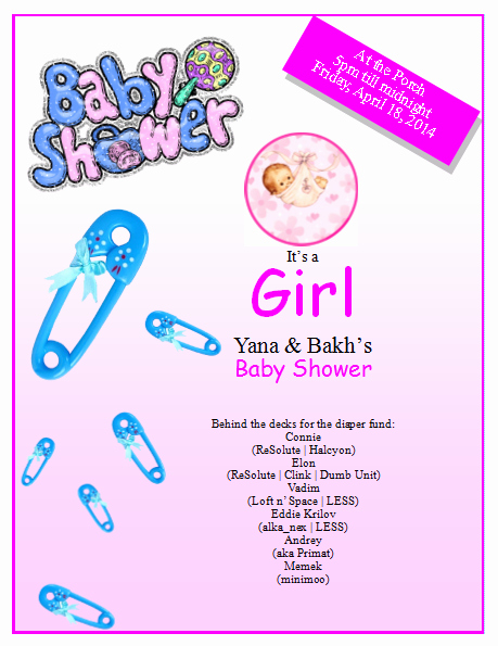 Baby Shower Flyer Template Word Unique Baby Shower Flyer Template Publisher