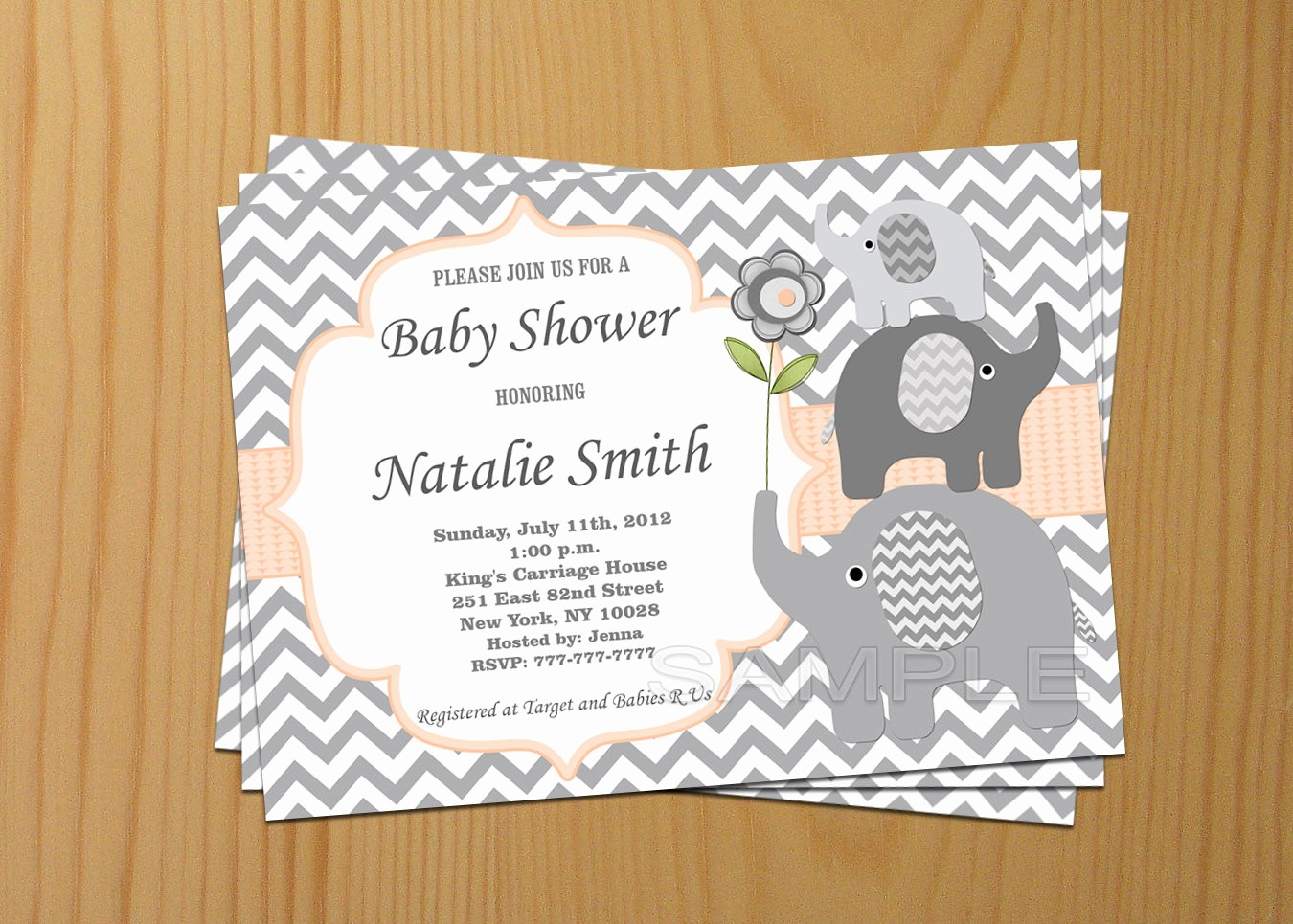 Baby Shower Invitation List Template Best Of Able Baby Shower Invitations Downloadable Baby