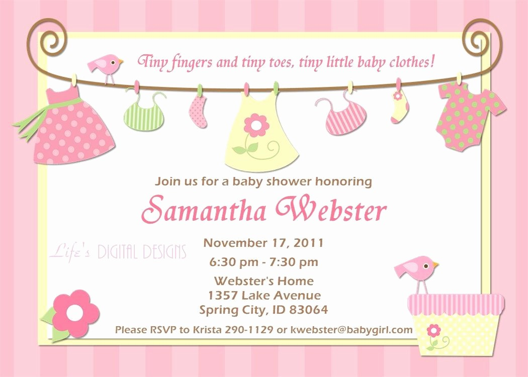 Baby Shower Invitation List Template Best Of Birthday Invitations Baby Shower Invitations