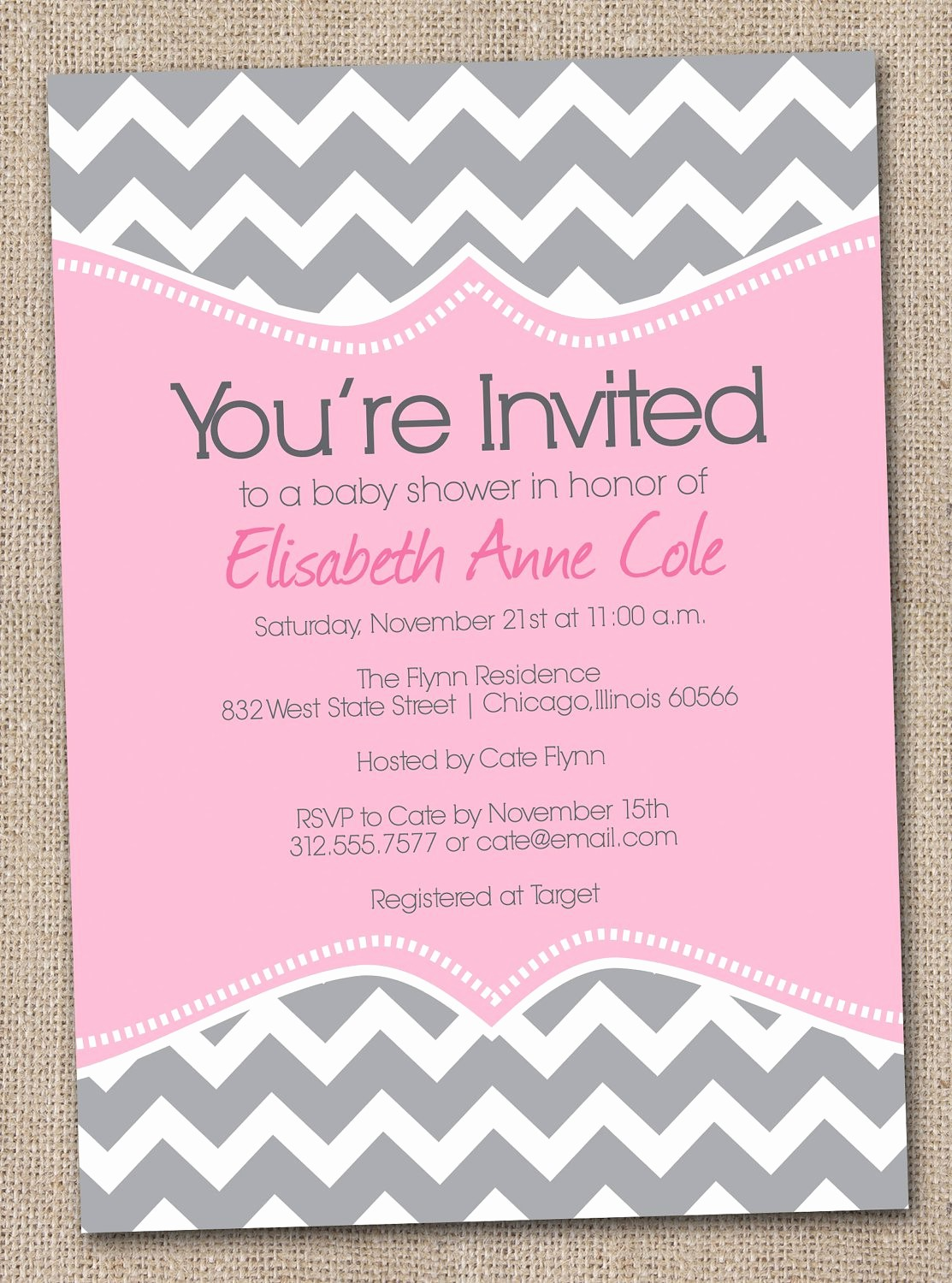 Baby Shower Invitation List Template Elegant Baby Shower Invitation Free Baby Shower Invitation