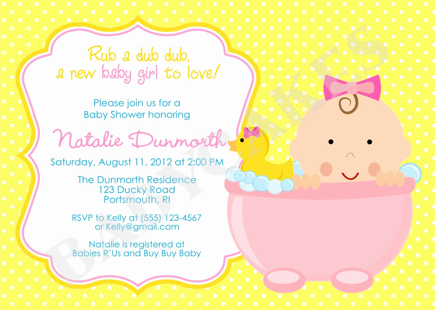 Baby Shower Invitation List Template Inspirational How to Plan Rubber Ducky Baby Shower Ideas