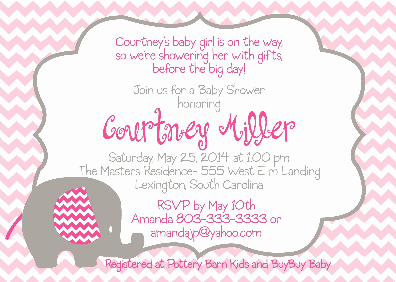 Baby Shower Invitation List Template Lovely Baby Shower Invitation Free Baby Shower Invitation
