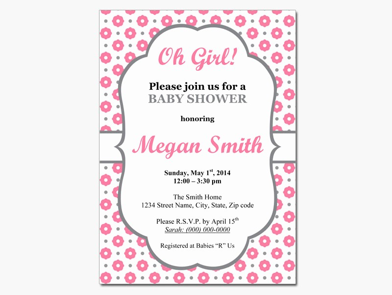 Baby Shower Invitation List Template Lovely Editable Baby Shower Invitations Templates Party Xyz