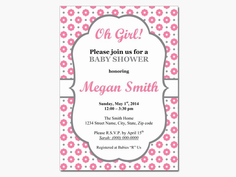 Baby Shower Invitation List Template Lovely Editable Baby Shower Invitations Templates Party Xyz