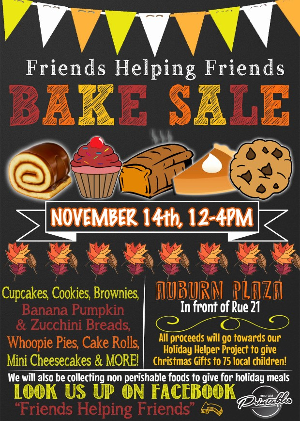 Bake Sale Flyer Template Free Awesome Bake Sale Flyer Templates Printable Psd Ai Vector Eps with
