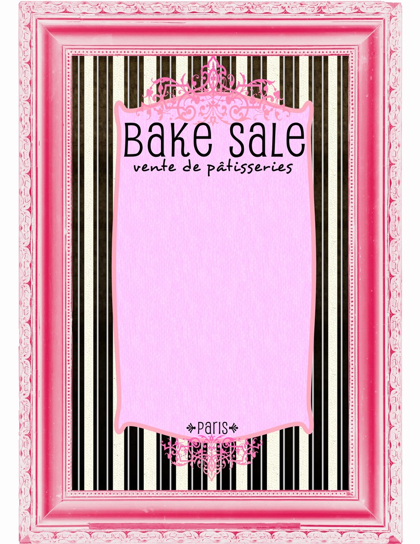 Bake Sale Flyer Template Free Fresh Bake Sale Flyers – Free Flyer Designs