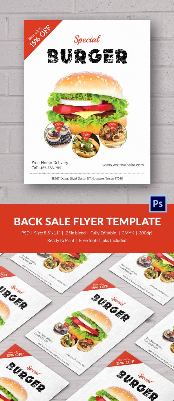Bake Sale Flyer Template Free Lovely Bake Sale Flyer Template 34 Free Psd Indesign Ai