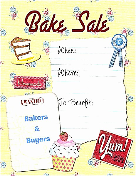 Bake Sale Flyer Template Free Luxury Bake F Flyer Template Planet Flyers