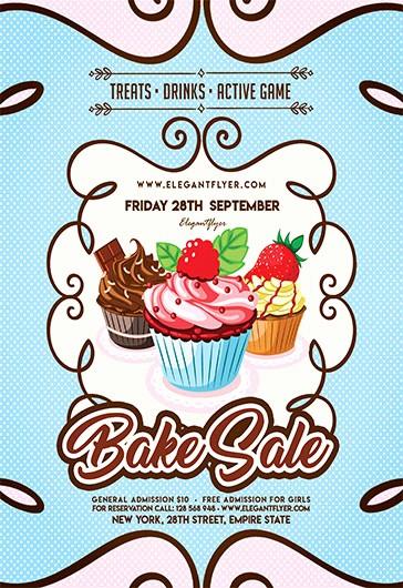 Bake Sale Flyer Template Free New Free Flyer for Bake Sale – by Elegantflyer