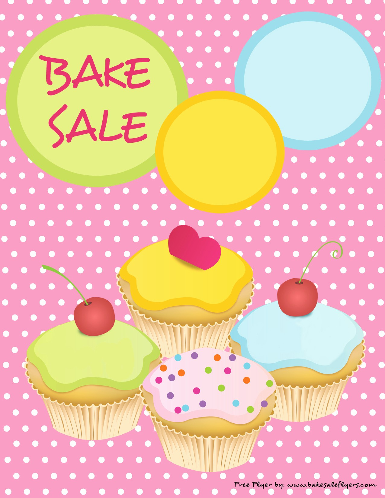 Bake Sale Flyer Template Free Unique Bake Sale Flyers – Free Flyer Designs