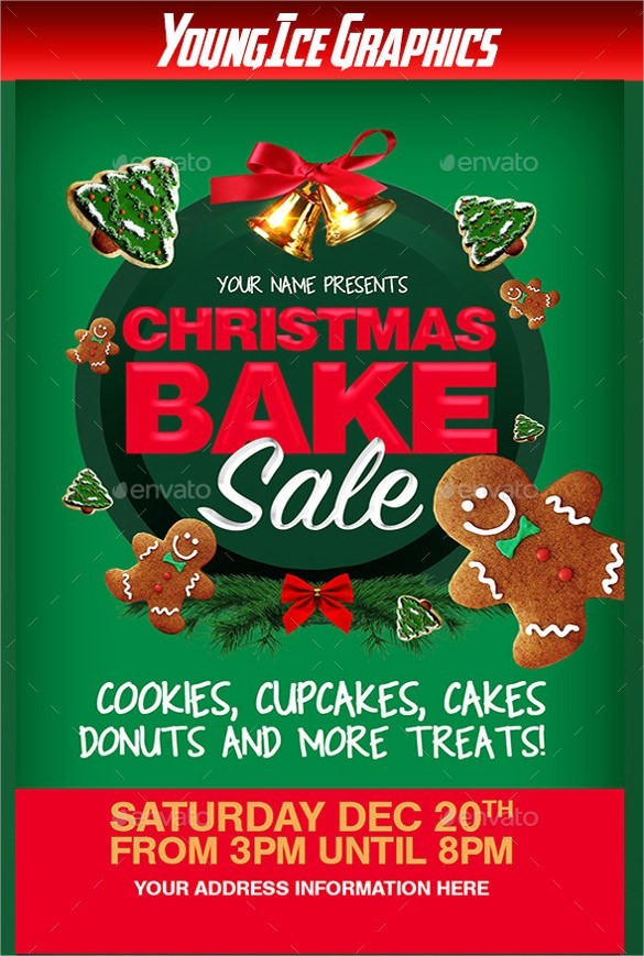 Bake Sale Flyer Template Microsoft Awesome 20 Bake Sale Flyer Templates