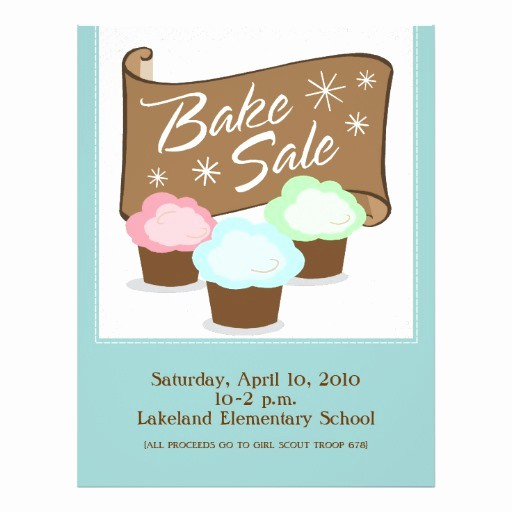Bake Sale Flyer Template Microsoft Elegant Bake Sale Flyers