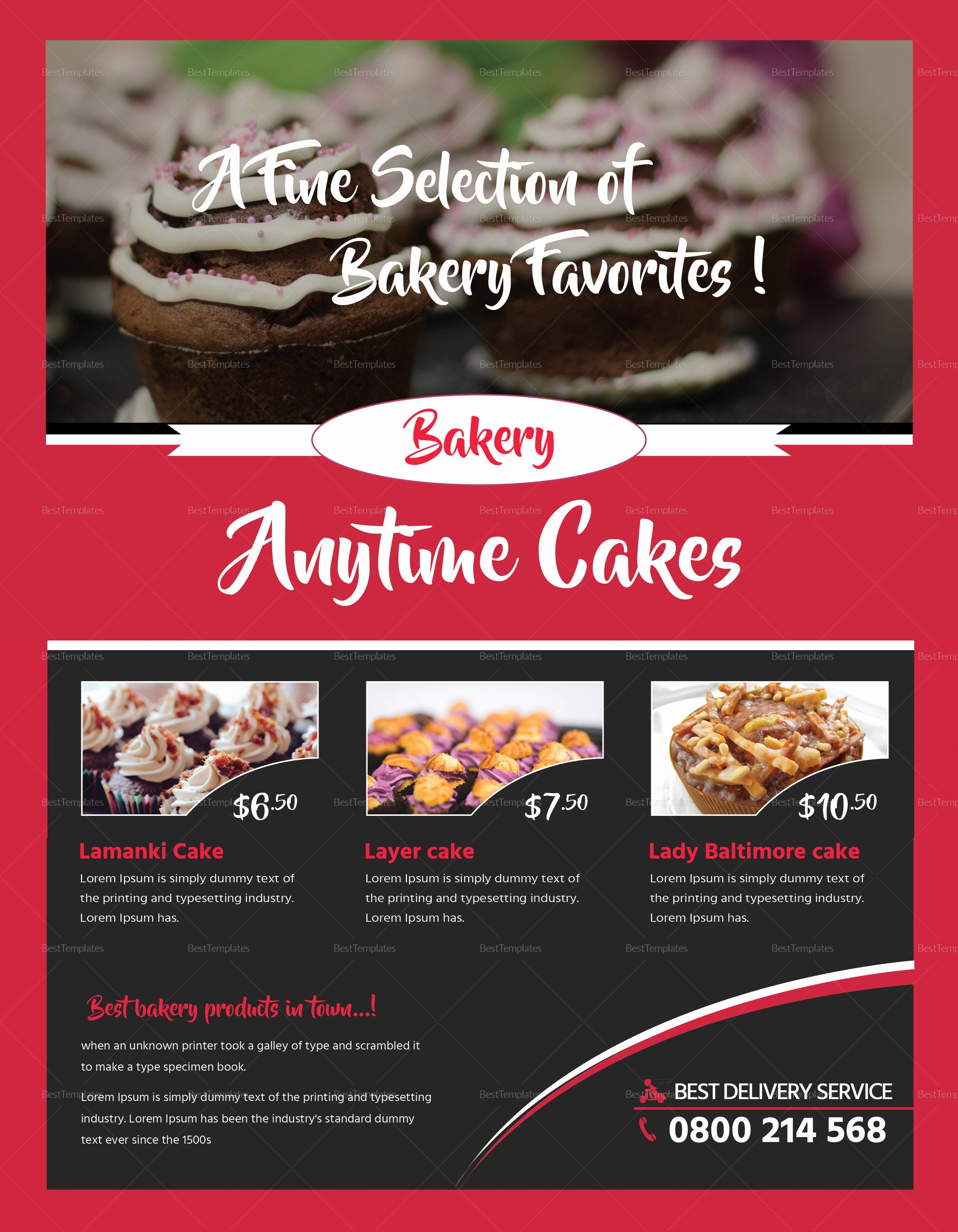 Bake Sale Flyer Template Microsoft Lovely Customizable Bake Sale Flyer Design Template In Psd Word