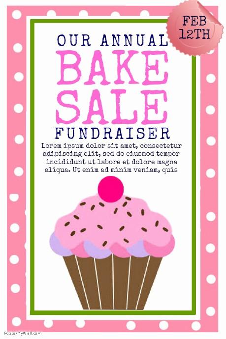 Bake Sale Flyer Template Microsoft New Bake Sale Template