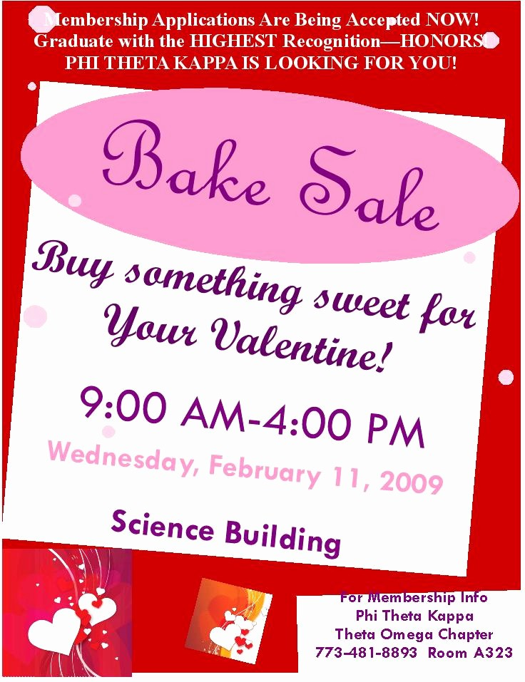 Bake Sale Flyer Template Microsoft New Best S Of Bake Sale Template Microsoft Word Free