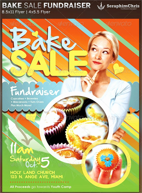 Bake Sale Flyer Template Microsoft Unique 17 Bake Sale Flyers