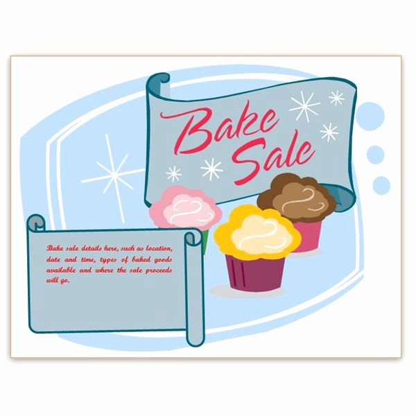 Bake Sale Flyer Template Word Awesome Find Free Flyer Templates for Word 10 Excellent Options