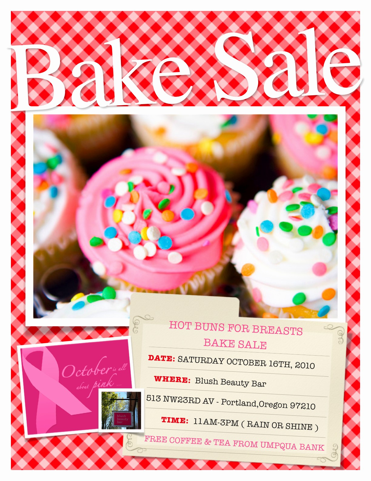 Bake Sale Flyer Template Word Inspirational Hot Buns for Breats Bake Sale