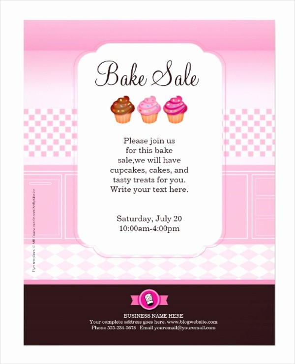 Bake Sale Flyer Template Word Lovely 23 Professional Flyer Templates Free Psd Eps Ai
