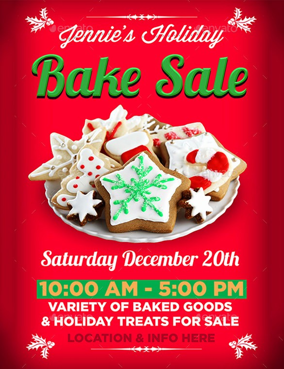 Bake Sale Flyer Template Word Luxury 34 Bake Sale Flyer Templates Free Psd Indesign Ai