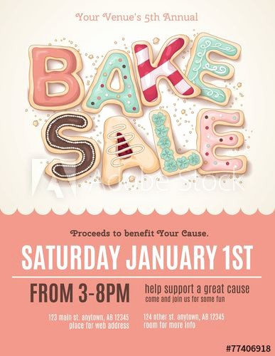 Bake Sale Flyer Template Word New Best 25 Bake Sale Flyer Ideas On Pinterest